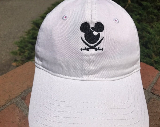 Disney Inspired Dad Hat - Mr. Mouse Pirates Ahoy!