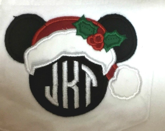 LONG SLEEVE - Mr. Mouse Santa - perfect for holidays in the park