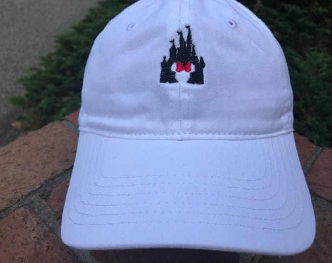 Disney Inspired Dad Hat - Mrs. Mouse/Magic Kingdom
