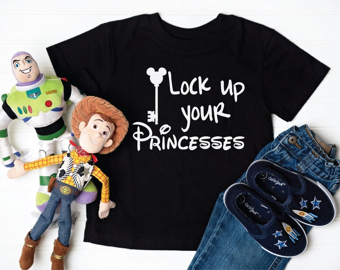 Lock Up Your Princesses -  Magical Vacation Tee - Adult and Youth sizes