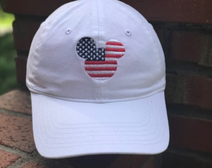 Disney Inspired Dad Hat - Patriotic Mickey