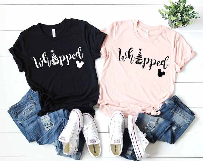 Whipped - Magical Vacation Tee - Adult and Youth sizes