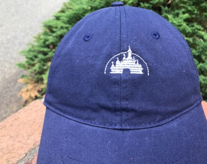 Disney Inspired Dad Hat - Castle