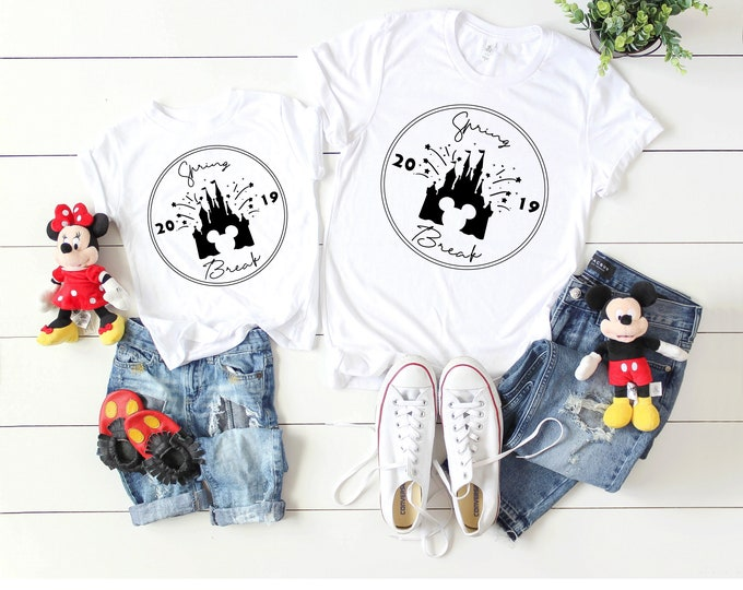Spring Break Disney Tee- Adult and Youth sizes
