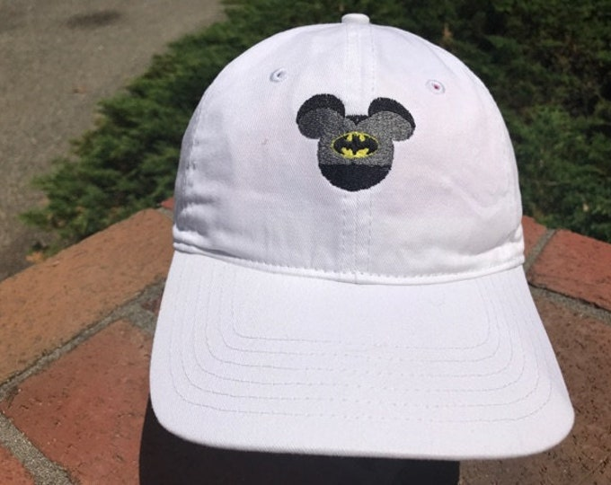 Disney Inspired Marvel Dad Hat - Batman and nine others to pick from