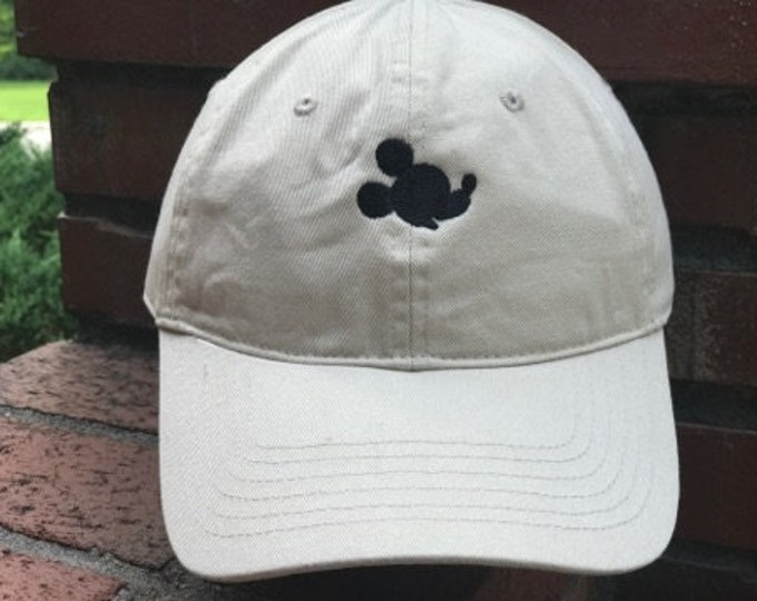 Disney Inspired Dad Hat - Mickey's best side