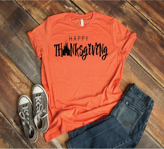 8961c4704a Thanksgiving Magical Vacation Tee Adult Youth Toddler | Etsy