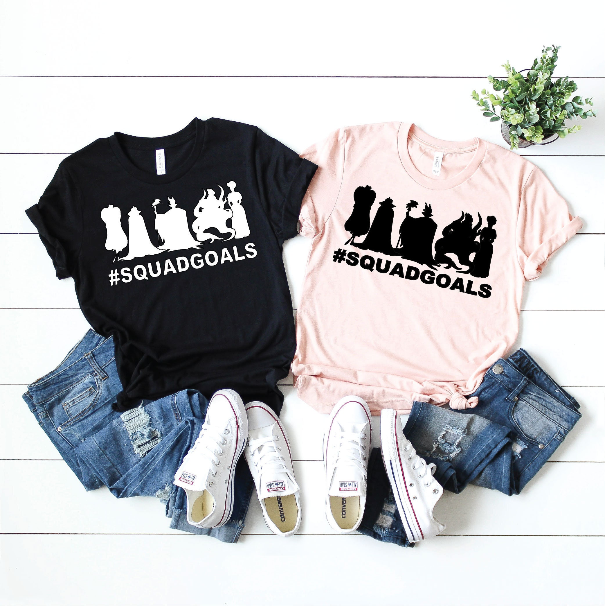 eeae6ccbe036 Villains Squad Goals- Magical Vacation Tee - Adult and Youth sizes