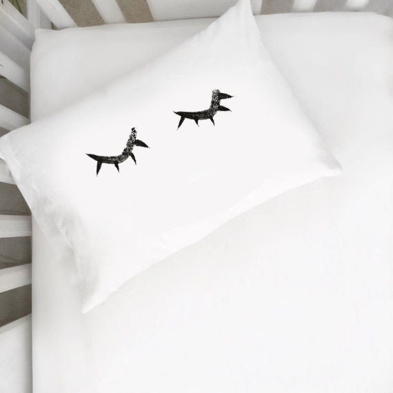 Toddler Closed Eyelashes Pillows
