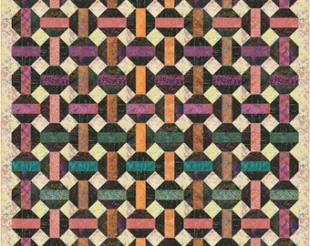 Honeycomb - Twin Size Quilt - Printed Pattern