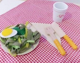 Tallarines Verdes - Pesto Pasta