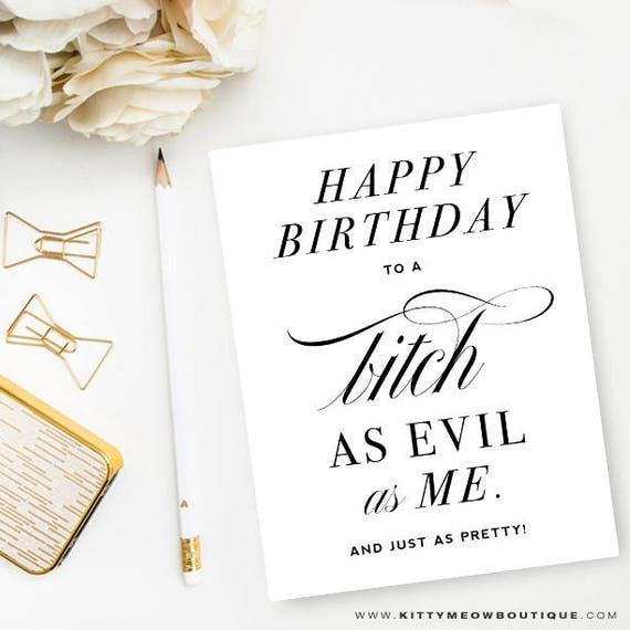 Funny Friendship Birthday Card Best Friends Female