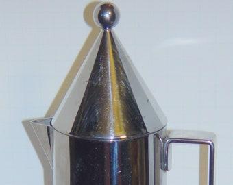 ALLESI Rossi Aldo Design La conica Espresso Coffee Maker