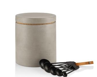 Concrete Kitchen Canister / Kitchen Jar / Storage Jar