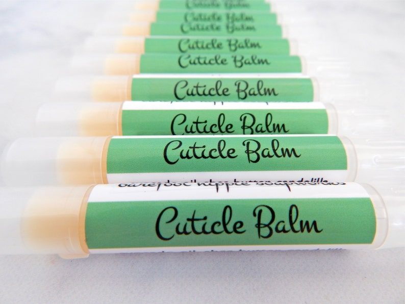 Cuticle Balm  cruelty free natural skin care  cuticle care  image 0