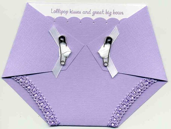 Purple Baby Shower Invitation Girl Baby Shower Invitations Etsy