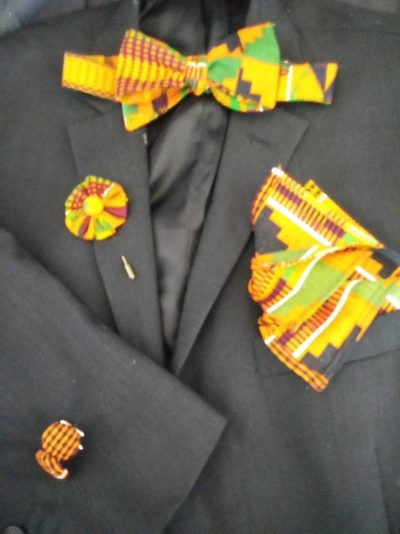 Kente Suit Accessories