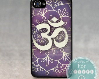 Case for Apple iPhone 4 / 4s / 5 / 6 / 6 Plus + / 7 - ZEN OHM YOGA  -  Jelly - Silicone