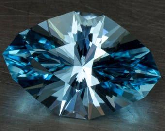 Sky Blue Topaz Natural Genuine Loose Modern Marquise Navette Precision Cut Gemstone