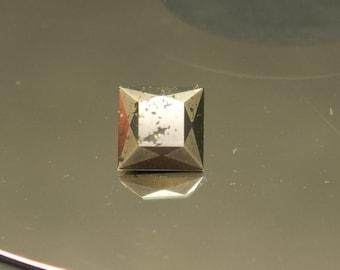 Pyrite -- 2.8 Carat Square Cut