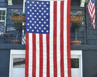 Items similar to SALE - Vintage American Flag - 50 Stars
