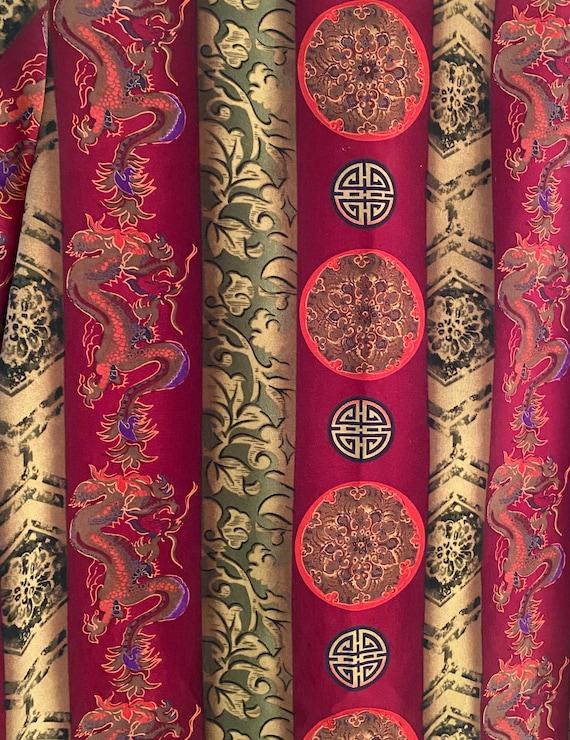 Vintage Maggie Sweet Dragon Print Blouse - image 4