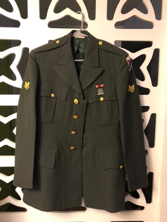 Vintage Military Suit