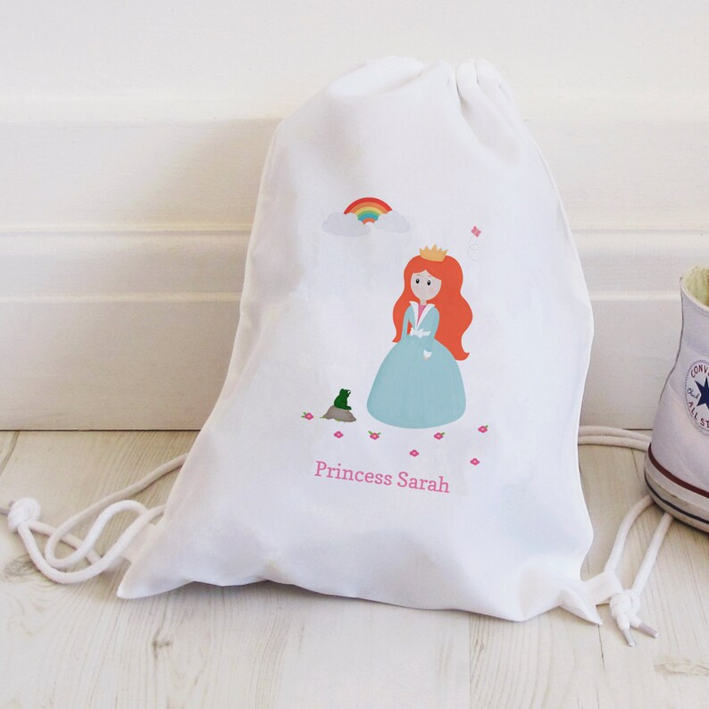 Princess Drawstring Bag