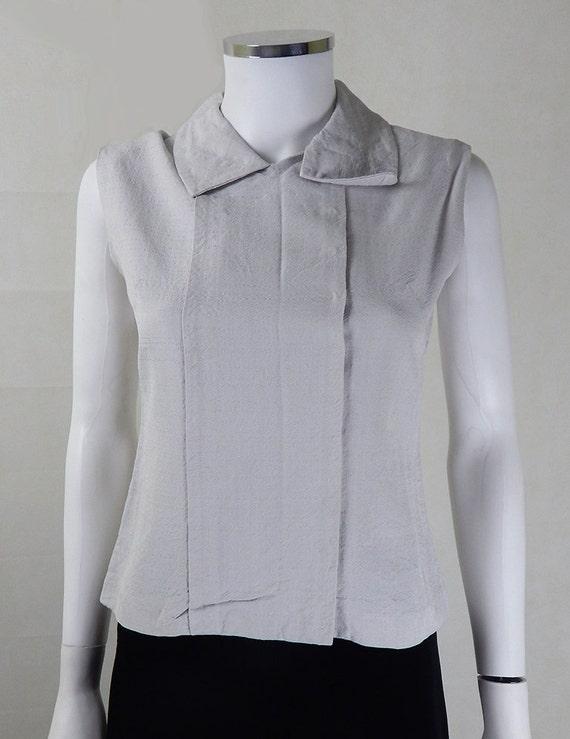YSL Vintage Blouse | Designer Vintage 1960s YSL St