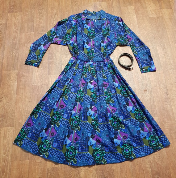 Vintage Liberty Dress, Original 1970s Vintage Libe