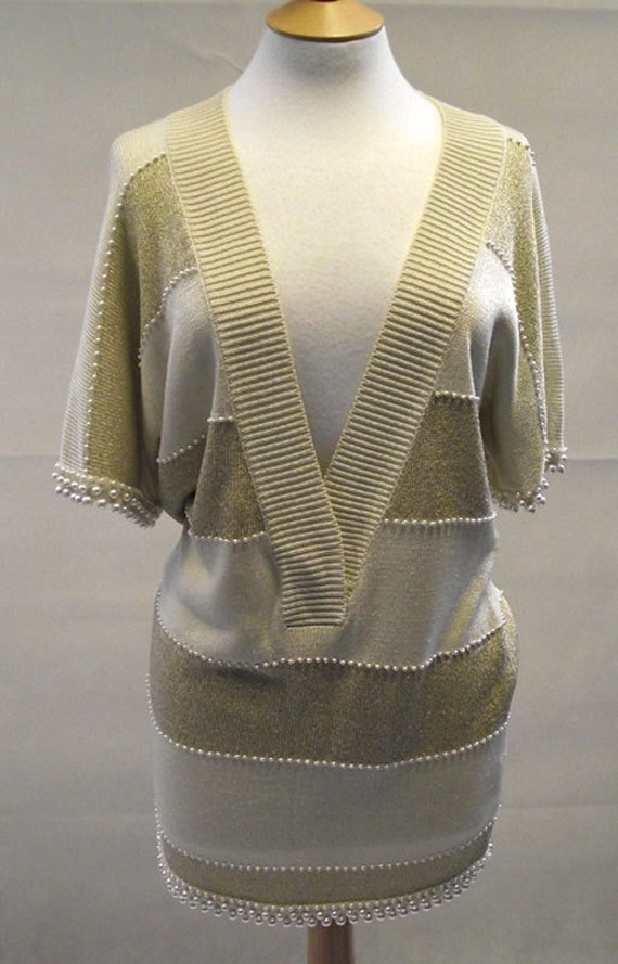 Louis Feraud Jumper Dress, Original 1980s Louis Fe