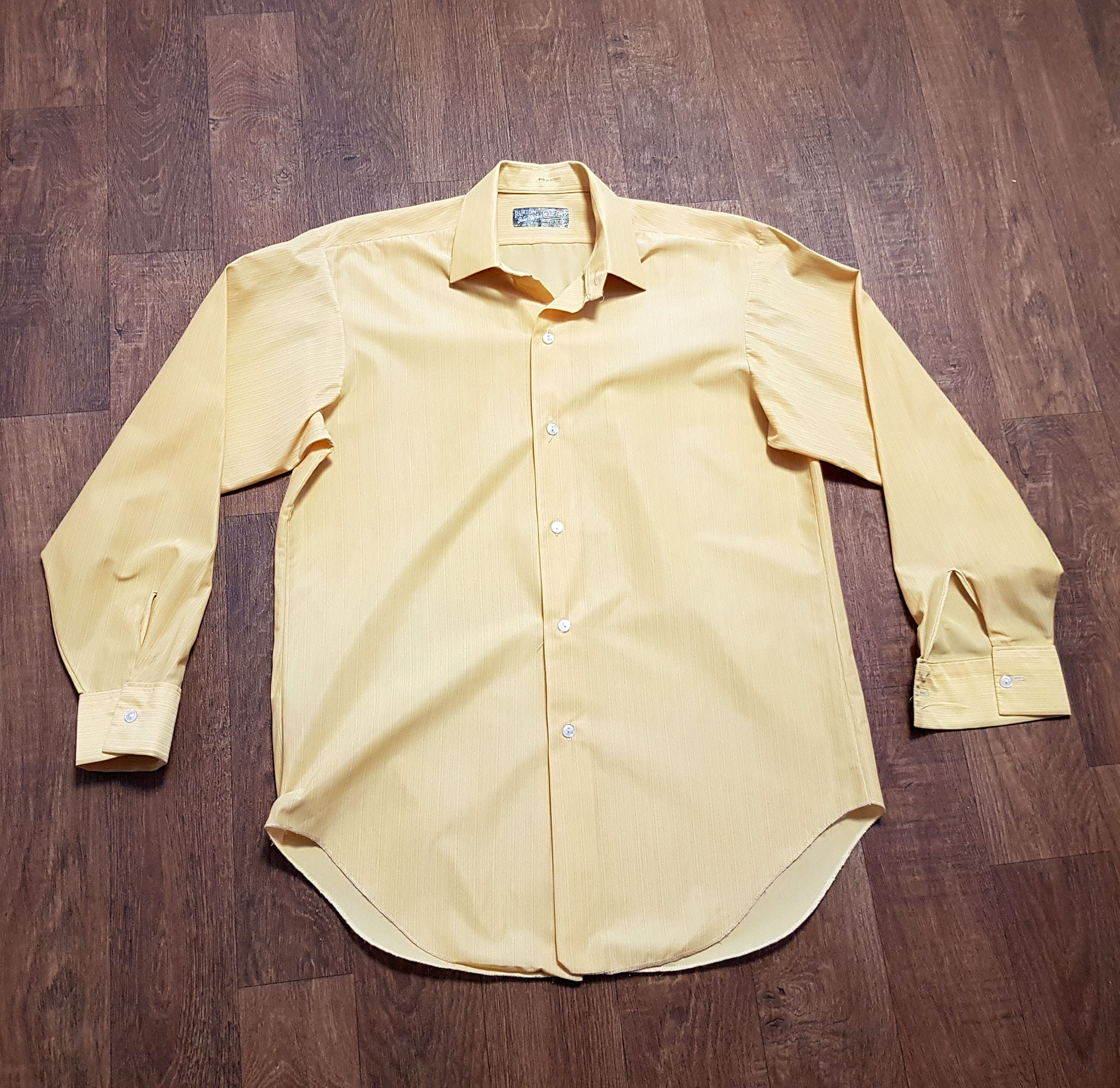 1970s Men's Shirt Styles – Vintage 70s Shirts for Guys Mens Vintage Shirt  1970S Mustard Yellow Uk Size Large Clothing, Menswear, Mens $51.52 AT vintagedancer.com