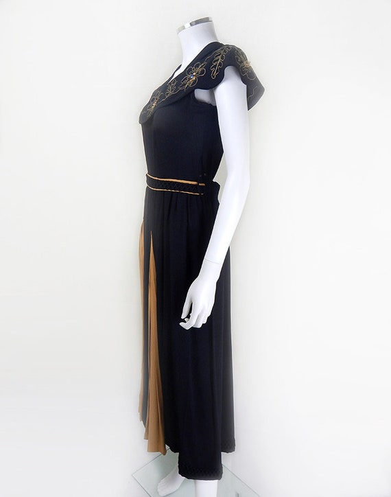 1930s Evening Dress | Stunning 1930s Vintage Blac… - image 9