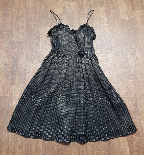 Radley Vintage Dress   1970s Vintage Radley Black