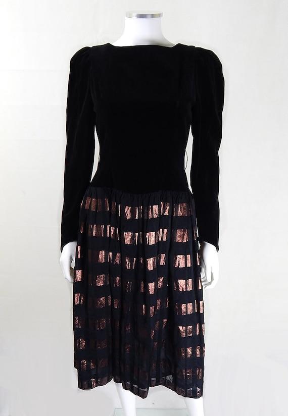 Radley Vintage Evening Dress   Vintage 80s Radley