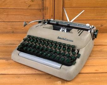 1950 Smith-corona Portable Typewriter Vtg Print Ad #1 Jade White Advertising-print