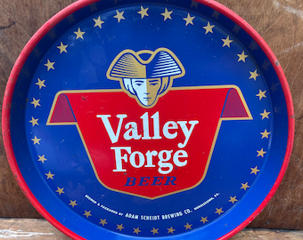 Vintage Valley Forge Beer Tray