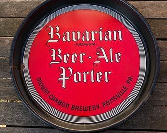 Vintage Bavarian Beer Ale Porter Beer Tray