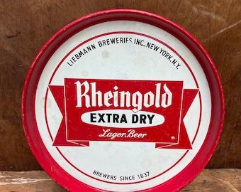 Vintage Rheingold Beer Tray