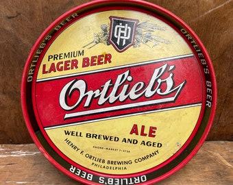 Vintage Ortliebs Lager Beer Tray