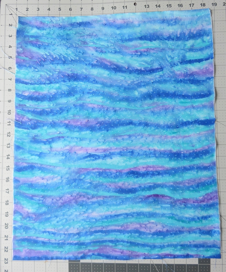 Hand Painted Fabric fat quarter #32503