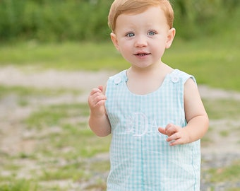 size 12 month blue Chambray and crabs Baby boy Jonjon