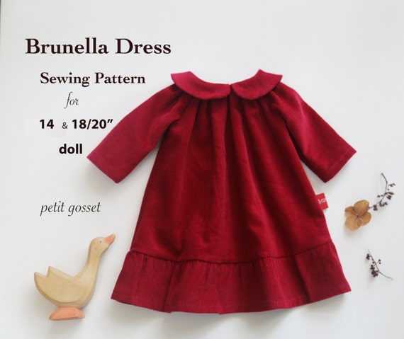 Sewing Pattern And Tutorial For Peter Pan Collar Dress For 14 Etsy