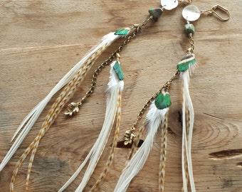 Chain Charm Earrings
