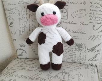 Cow plushie stuffed animal