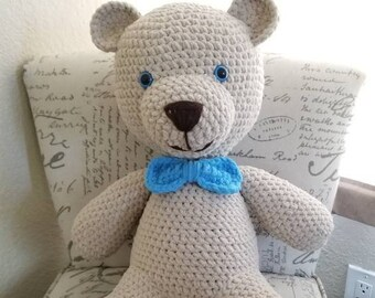 Big Teddy bear stuffed animal  stuffie plushie