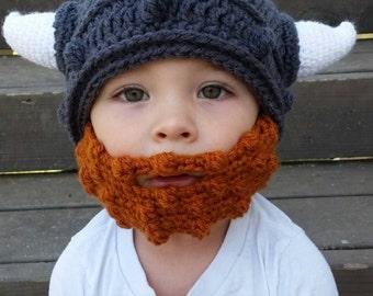 dde6a02cd64 Viking beard Beanie Hat Cap- beard hat- viking beard You choose size and  color