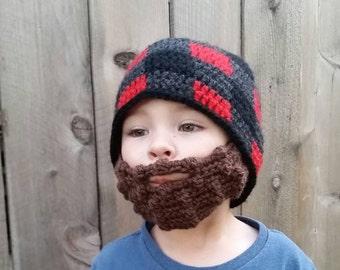 Lumberjack Beard Beanie 6a3c8f6ac5e8