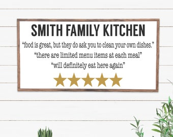Funny Dining Room Wood Sign, Humor Kitchen Sign, Wood Signs Sayings, Farmhouse Style Sign, Wooden Sign Kitchen