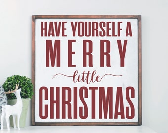 Merry Christmas Wood Sign, Farmhouse Holiday Decor, Modern Farmhouse, Wood Sign, Wooden Sign, Christmas Wall Decor, Christmas Wall Art